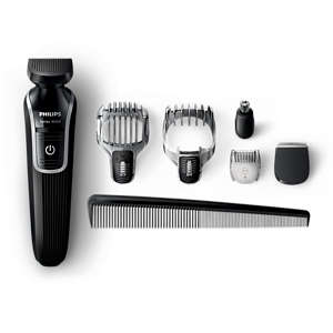 Multigroom series 3000 6-in-1 Beard and Hair trimmer