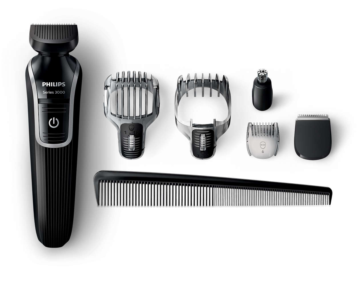multigroom series 3000 6 in 1 beard hair trimmer qg3342 23 philips. Black Bedroom Furniture Sets. Home Design Ideas