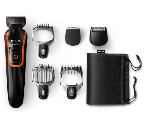 multigroom series 3000 6 in 1 beard hair trimmer qg3347 15 philips. Black Bedroom Furniture Sets. Home Design Ideas