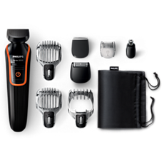 QG3352/23 Multigroom series 3000 8-in-1 Head-to-toe trimmer
