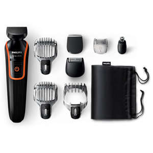 Multigroom series 3000 8-in-1 Head-to-toe trimmer