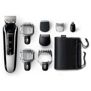 Multigroom series 5000 8-in-1 Head-to-toe trimmer