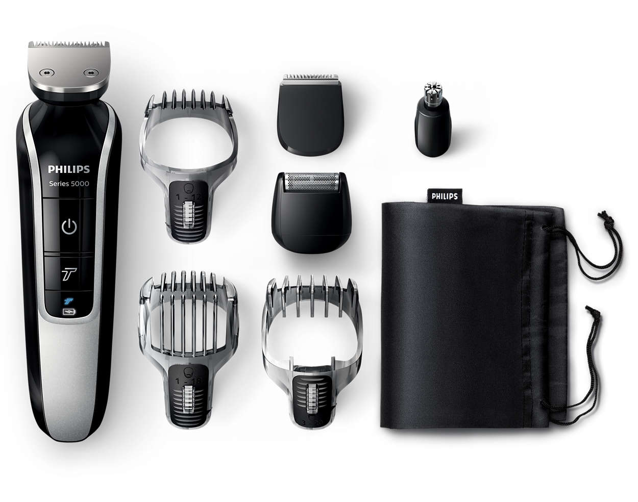multigroom series 5000 lithium ion all in one trimmer qg3364 16 philips. Black Bedroom Furniture Sets. Home Design Ideas