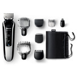 Multigroom series 5000 Recortador de barba y pelo 8 en 1