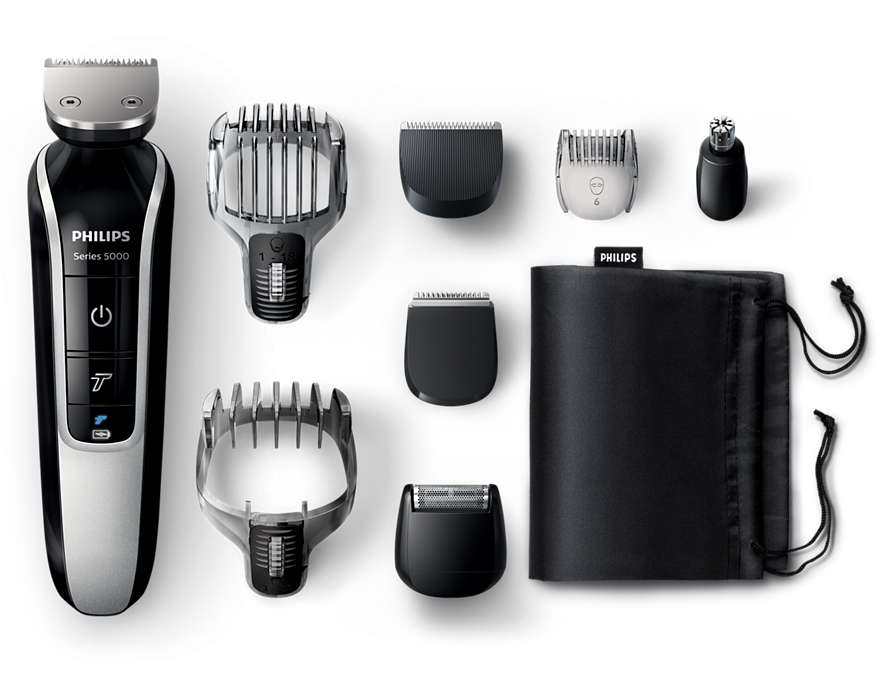 Máquina para cortar cabello y barba todo en uno