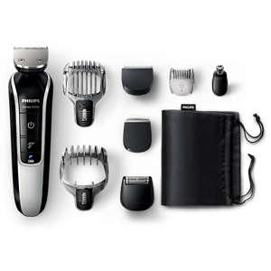 Multigroom series 5000 Tondeuse barbe et cheveux 8 en 1