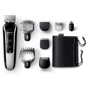 Multigroom series 5000 8-in-1 tondeuse voor baard en haar