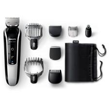 Multigroom series 5000 Prirezovalnik brade, dlak in las 8-v-1
