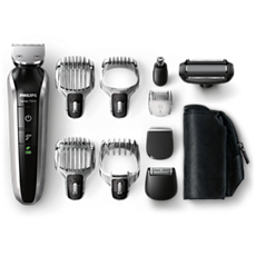QG3380/16 Multigroom series 7000 10-in-1 Head to toe trimmer