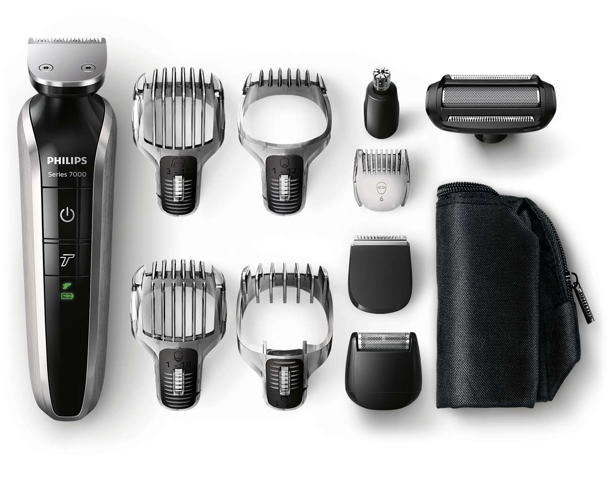 All-in-one beard, hair & body trimmer