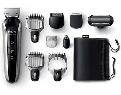 philips norelco multigroom 3100 how to use