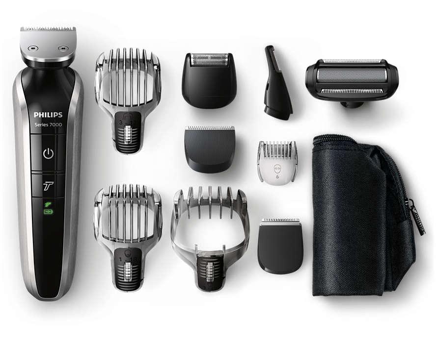 All-in-One-Trimmer für Bart, Haar und Körper