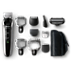 Philips Multigroom series 7000 Lithium Ion all in one trimmer QG3396/16 6 attachments & 4 combs cordless, showerproof high-performance blade 60mins cordless use/1h charge