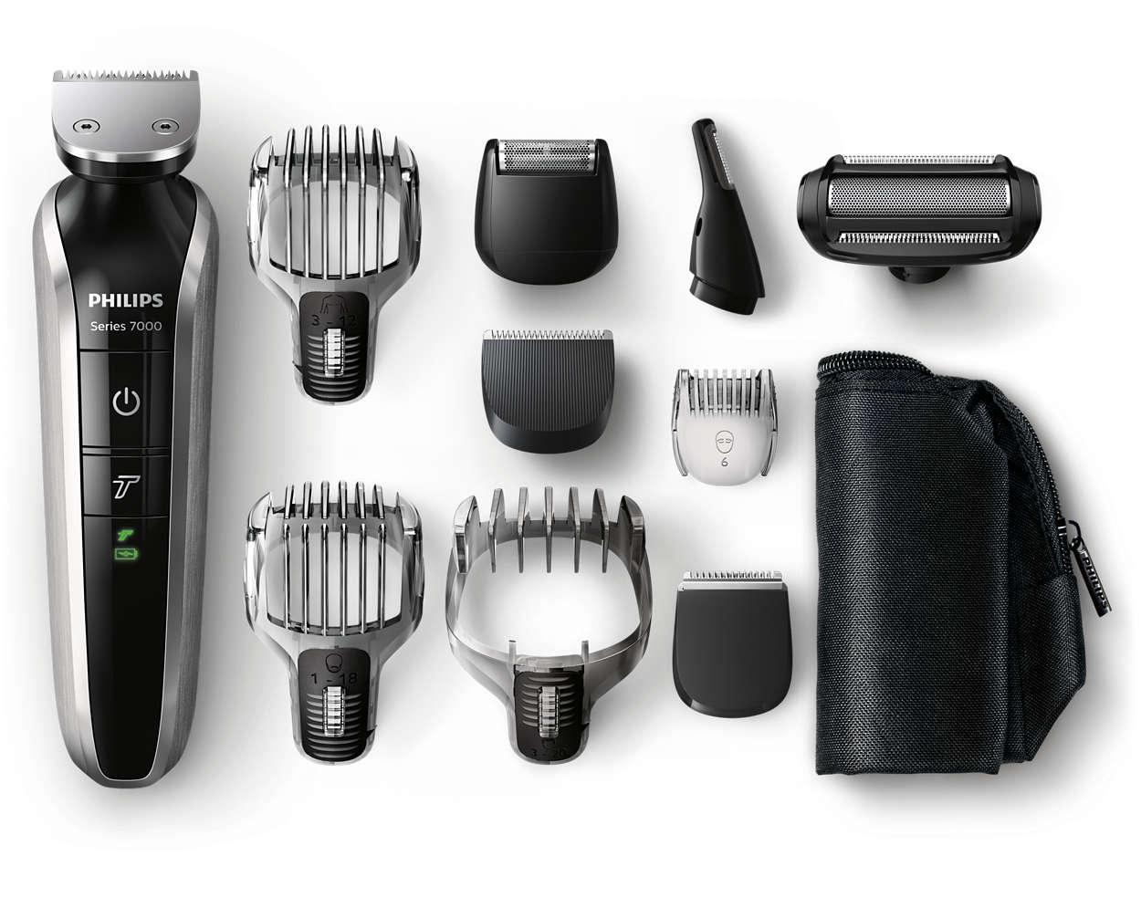 Tondeuse pour la barbe, les cheveux et le corps tout-en-un
