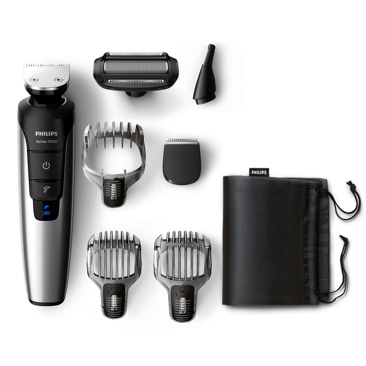 All-in-one lithium-ion beard, hair & body trimmer