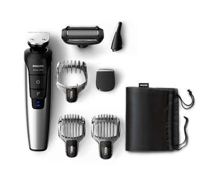 Tondeuse tout-en-un au lithium-ion pour barbe, cheveux et corps