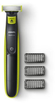 Buy Trim, style, og barber, til alle hårlængder, OneBladeQP2520/20 online   Philips Shop