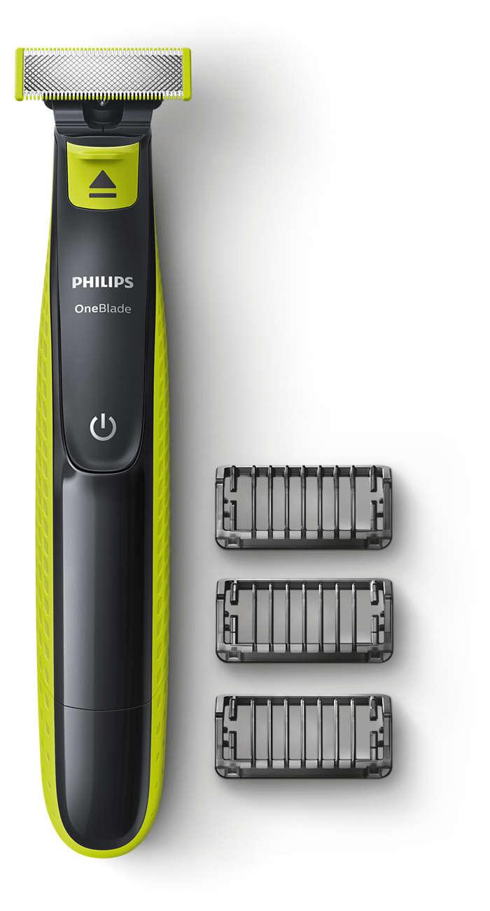 Den nye måten å trimme, style og barbere - uansett skjegglengde!
