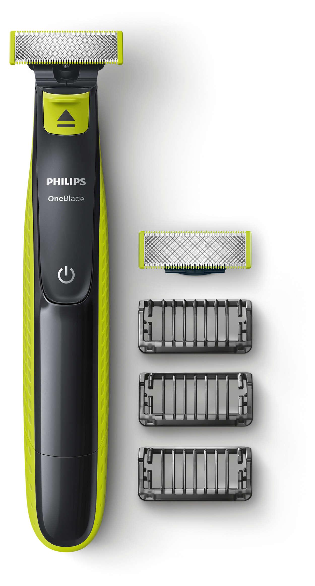 OneBlade: recorta, perfila y afeita cualquier longitud de pelo