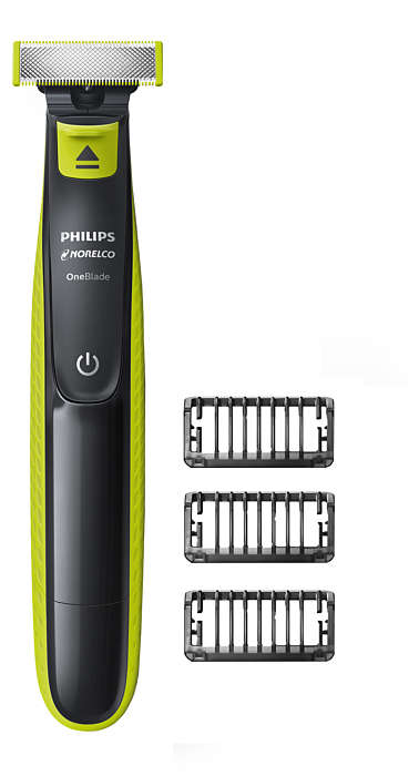 OneBlade to trim, edge & shave any length of hair