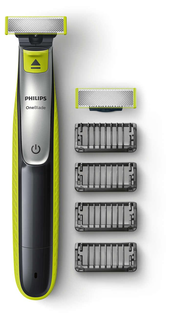 Den nye måten å trimme, style og barbere