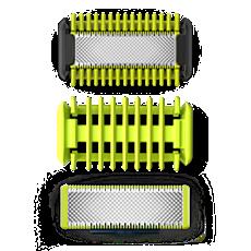QP620/50 -   OneBlade Sæt til ansigt + krop
