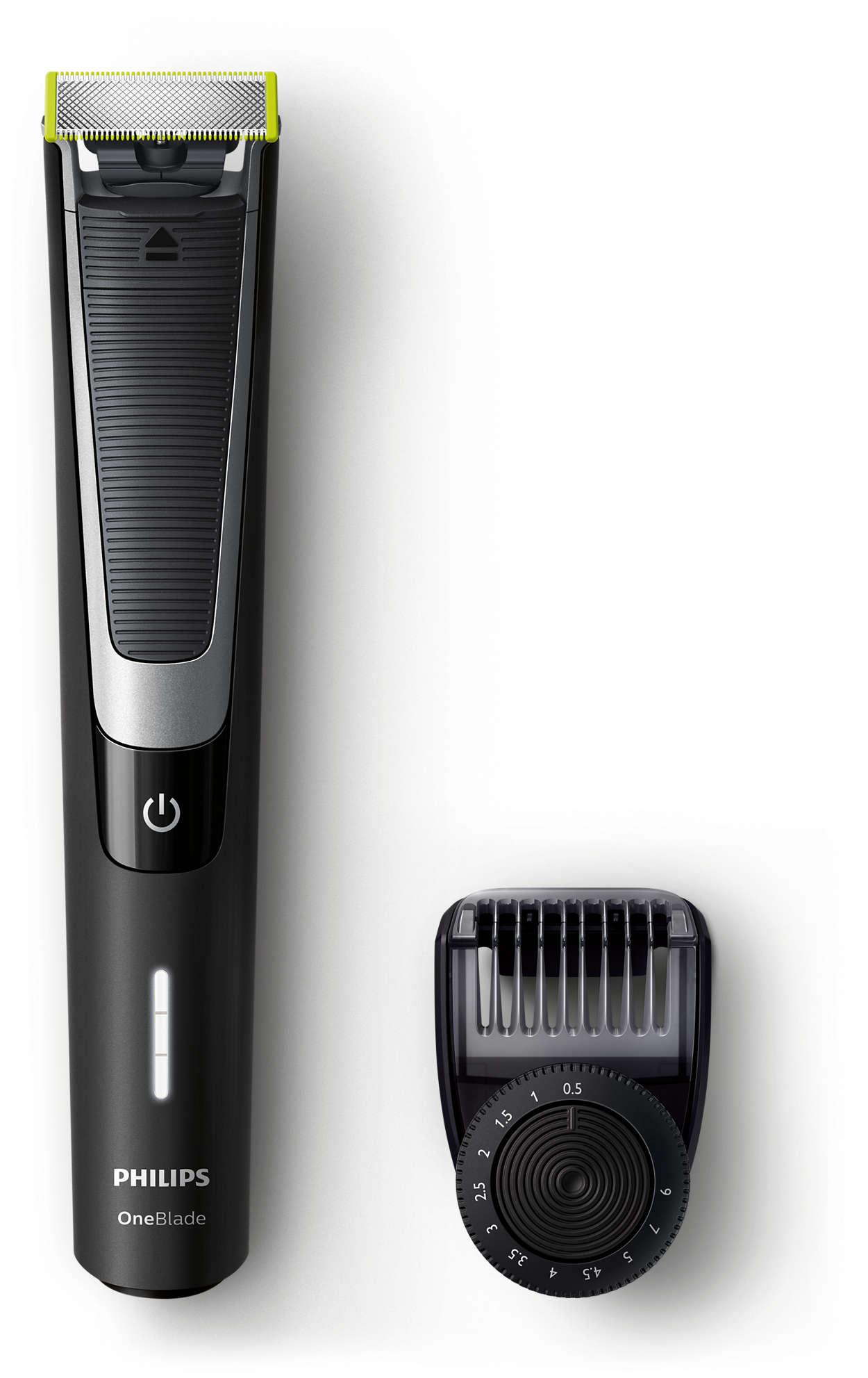 Trim, kant og barber alle hårlengder