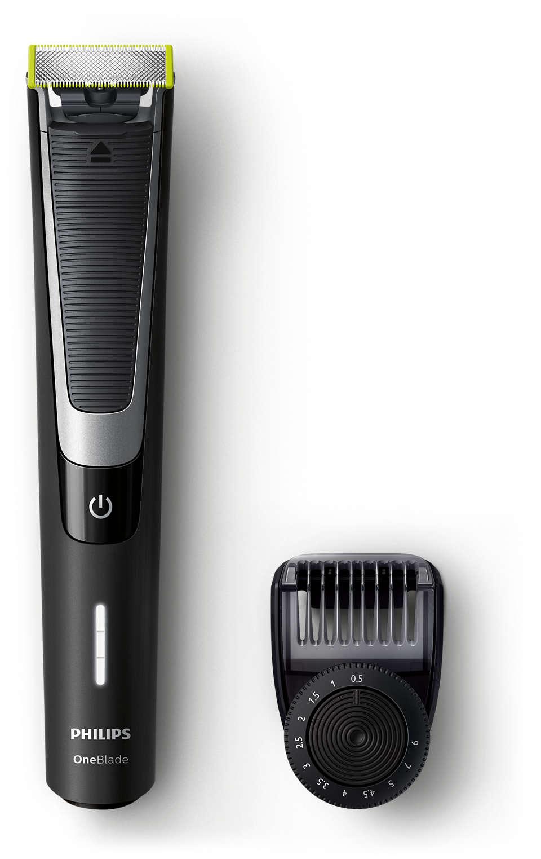 OneBlade zastriháva, tvaruje aoholí akokoľvek dlhú bradu