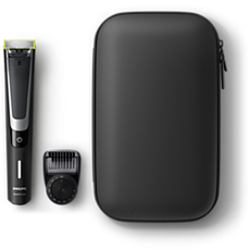QP6510/64 OneBlade Pro Face with travel pouch