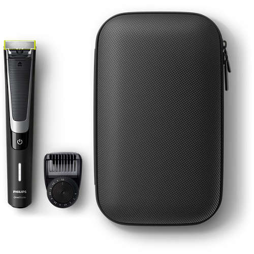 OneBlade Pro Face with travel pouch