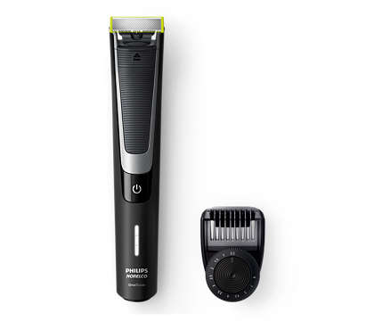 OneBlade to trim, shave, &edge any length of hair