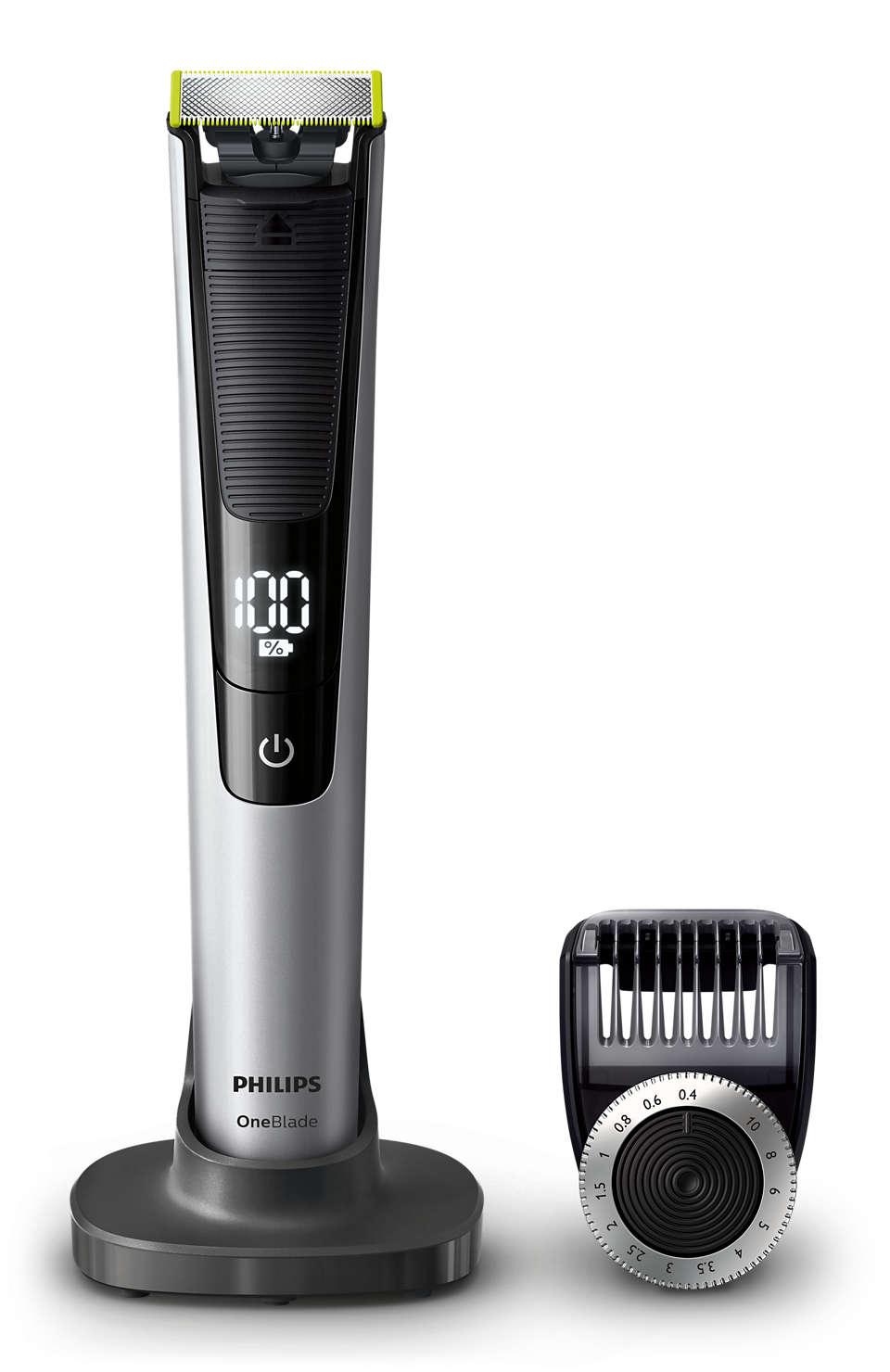 Tond, définit et rase les poils de toutes longueurs