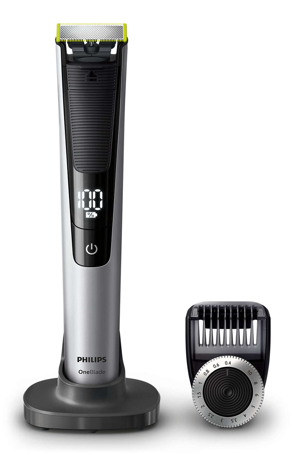 Rade, regola e rifinisce la barba di qualsiasi lunghezza