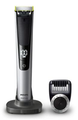 Buy OneBlade Pro zum Trimmen, Stylen und RasierenQP6520/30 online | Philips Shop
