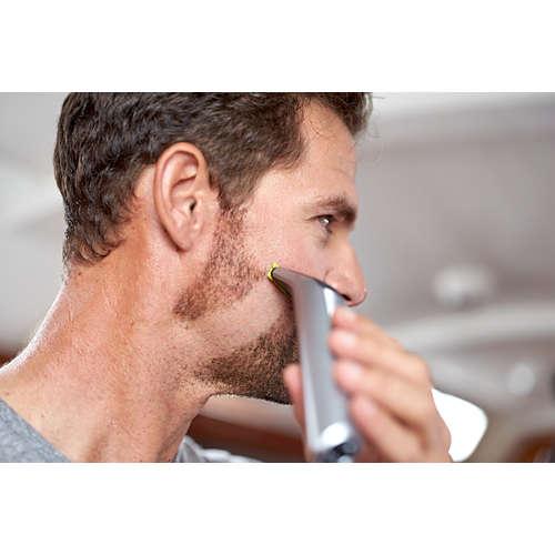 OneBlade Pro Gesicht