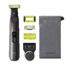 QP6550/15 OneBlade Pro Ansigt + krop