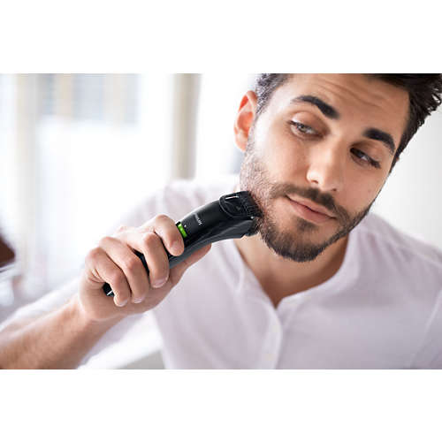 Beardtrimmer series 3000 Beard & stubble trimmer with USB charging
