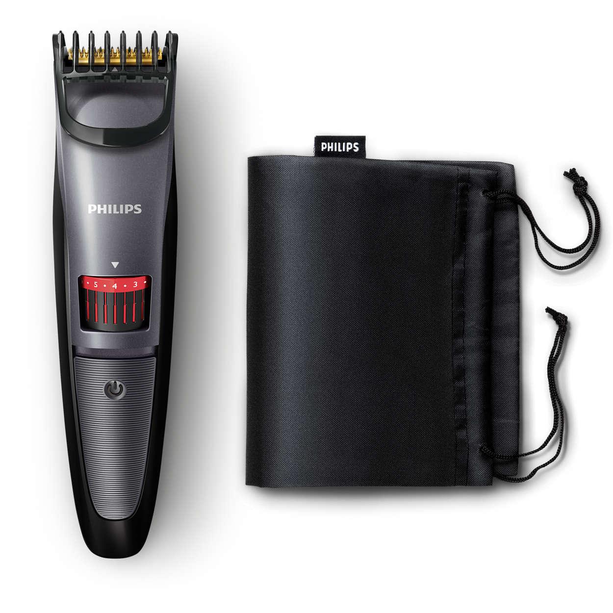422607cfe Beardtrimmer series 3000 Aparador de barba curta e normal QT4015/16 ...