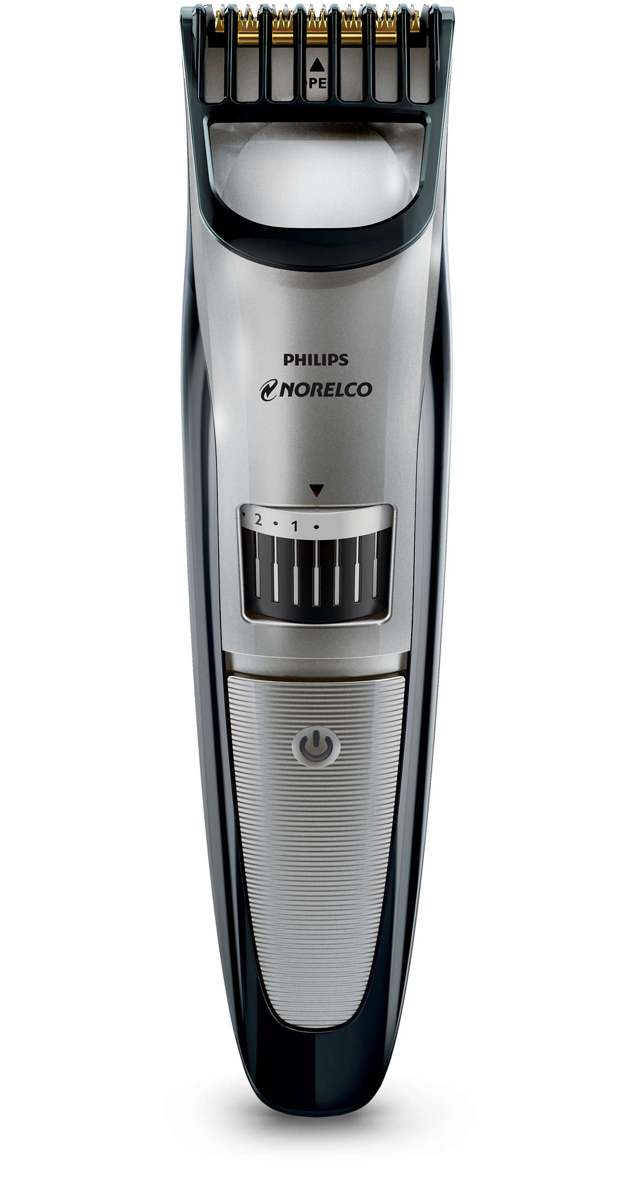 Philips Norelco Beardtrimmer 3500. Beard & stubble trimmer, Series 3000. Precision trim for every length. Precision trim for every length
