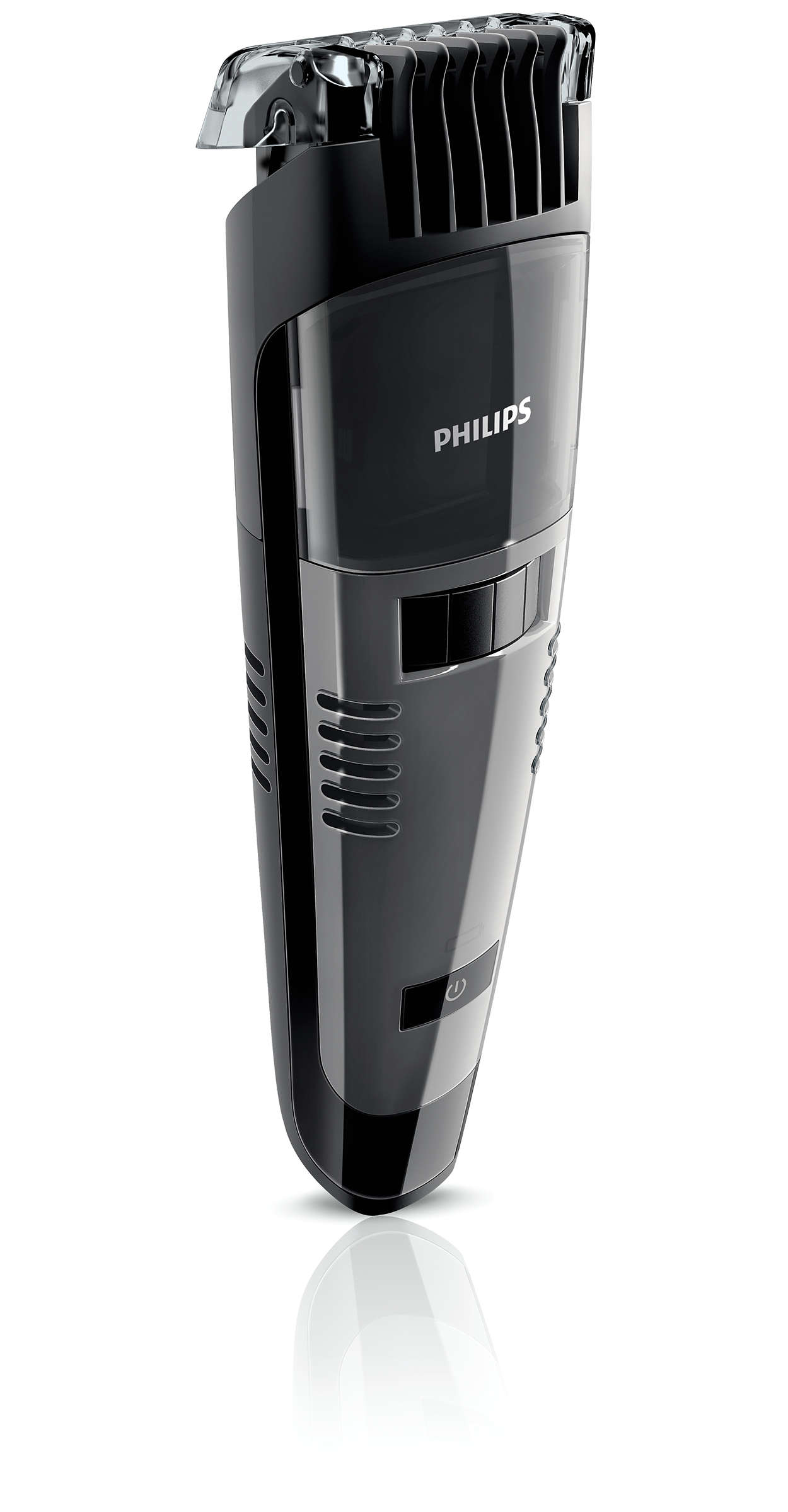 beardtrimmer series 7000 tondeuse barbe avec syst me d 39 aspiration qt4050 32 philips. Black Bedroom Furniture Sets. Home Design Ideas