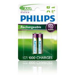 Rechargeables Bateria