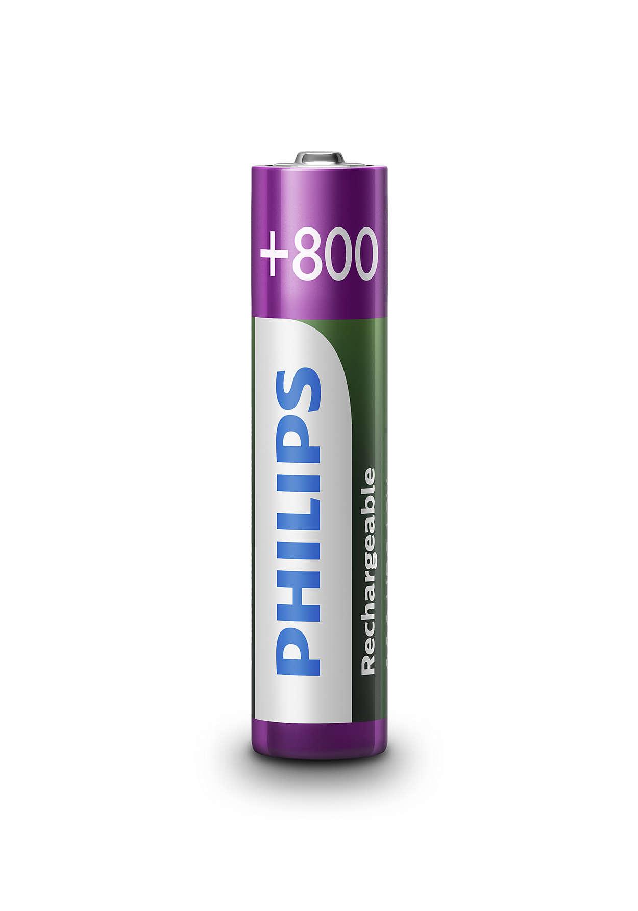 立即使用充電電池