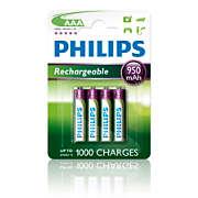 Rechargeables Batteri