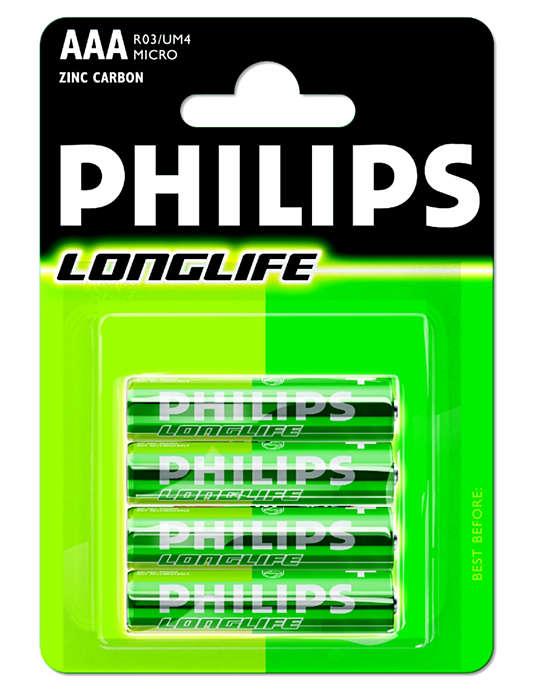 Pilhas de topo para dispositivos de baixo consumo