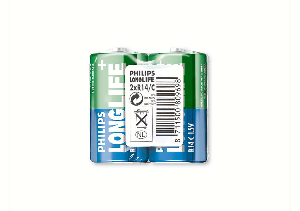 Batterier i topkvalitet til lavtforbrugende enheder