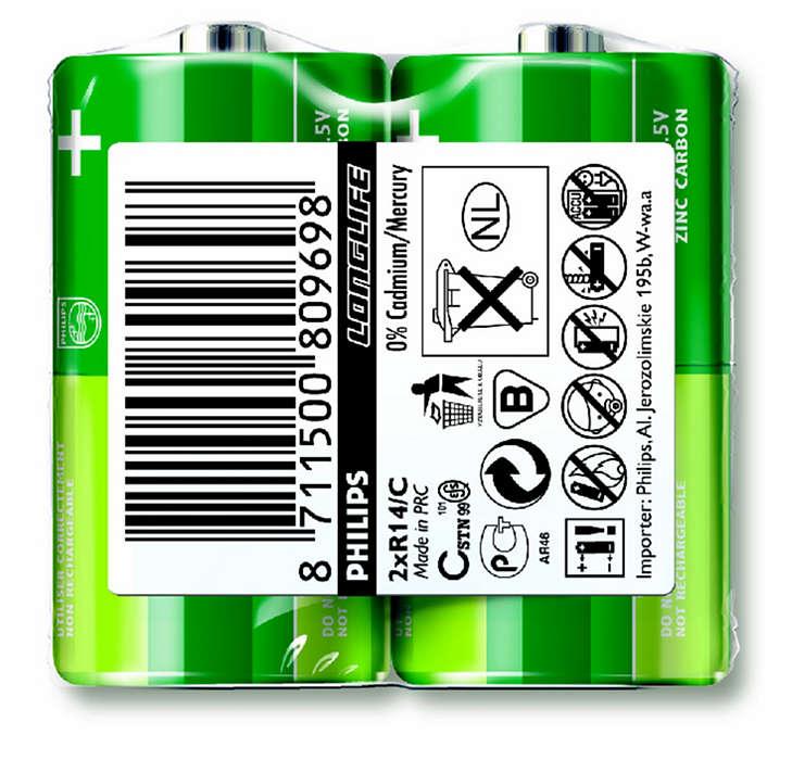 Μπαταρίες για συσκευές χαμηλής κατανάλωσης