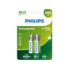 R6B2A260/10 Rechargeables Baterija