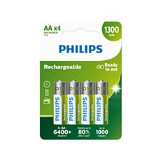 R6B4A130/10 Rechargeables Baterija