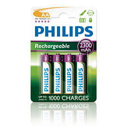Rechargeables Accu ricaricabile