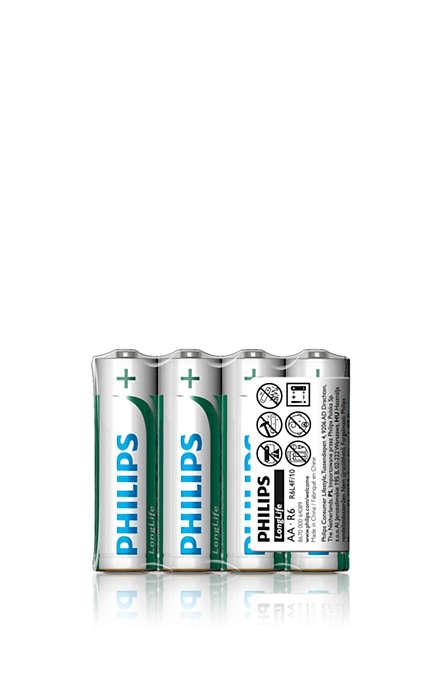 에너지 사용량이 낮은 기기를 위한 최상의 배터리